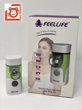 FeelLife Portable Mesh Ultrasonic Nebulizer, Air Pro IV, 1 yr Factory Warranty