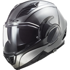 LS2 FF900 VALIANT II 2 Titanium Jeans Convertible motorcycle helmet ZQ