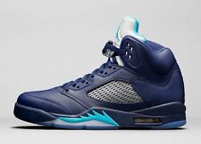 NEW NIKE AIR JORDAN 5 RETRO SHOES HORNETS MENS SZ 13 136027 405 MICHAEL JORDAN