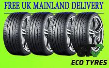 4X Tyres 225 40 R18 92Y XL Bridgestone Potenza S001 E B 72dB ( Deal of 4 Tyres)