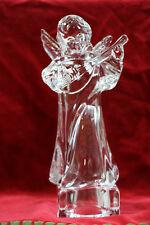 Mikasa Fine Crystal Herald Angel Collection Angelic Mandolin  24% Leaded Crystal
