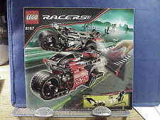 Lego 8167 RACERS JUMP RIDERS Instruction Manual ONLY MINT CONDITION