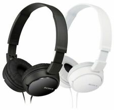 Sony Headphone Over-Head MDR-ZX110 Stereo  Extra Bass Black & White Colors NEW!!