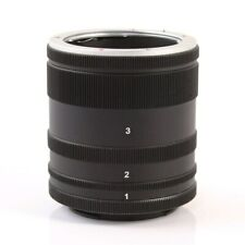 Macro Extension Tube Adapter Ring For Sony E Mount NEX Camera Lens A7 A7R A5100