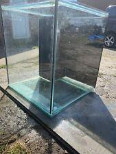 Marine Fish Tank Cube 24x24x24 Aquarium Dry Weir