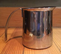 Krups Milk Frothing Pitcher Creamer Stnls. Steel 10 Oz Espresso Cappuccino Latte