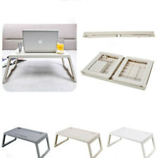 Laptop Bed Tray Table with Handle, Portable Laptop Desk Notebook Stand Reading