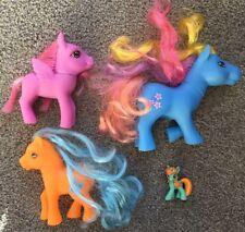 Lot Of 4 Vintage My Little Pony