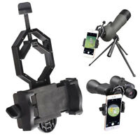 Universal Cell Phone Telescope Adapter Holder Mount Bracket Spotting Scope