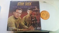 Star Trek The Cage Where No Man TV Soundtrack LP Television 1985 Record GNPS ost