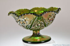 Contemporary FOUR SEVENTY FOUR by Imperial GREEN Carnival Compote