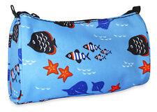 Wholesale Makeup Bags Cosmetic Lot Bulk Make Up Dozen 12 pieces Fish Ocean