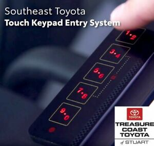 NEW TOYOTA 2019-2021 MULTI VEHICLE KEYLESS ENTRY WINDSHEILD TOUCH KEYPAD