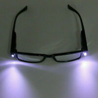LED Light Multi Strength Reading Glasses Eyeglass Spectacle Diopter Magnifier B7