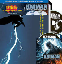 BATMAN: THE DARK KNIGHT RETURNS GRAPHIC NOVEL+ORIGINAL MOVIE+DIGITAL NEW