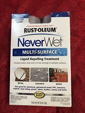 2-Pack Never Wet Multi Purpose Kit Liquid Repelling Treatment Rust Oleum 18 Oz