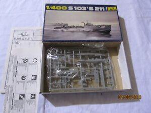Heller 1/400 S 103 & S 211 Model Kit Boat Ship NEW