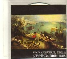 (DT85) Titus Andronicus, Upon Viewing Bruegel's - 2009 DJ CD