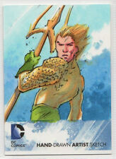 DC Comics New 52 Hand Drawn Artist Sketch Aquaman by NO ID 1/1