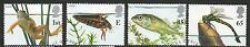 GB 2001 Europa, Pond Life fine used set stamps