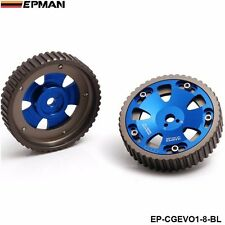 ADJUSTABLE CAM SHAFT GEAR GEARS FOR MITSUIBISHI LANCER EVOLUTION EVO 1-8 4G63