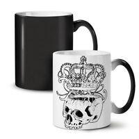 Crown Skeleton Rock NEW Colour Changing Tea Coffee Mug 11 oz | Wellcoda