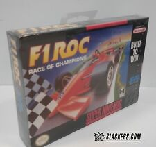 F1 ROC: Race of Champions (Super Nintendo) FACTORY SEALED!! H-Seam SNES MINT!