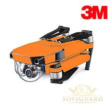 SopiGuard 3M Matte Orange Skin Wrap Battery Controller for DJI Mavic Pro