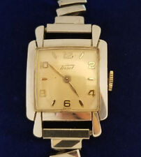 Watch 17 Jewels For Parts Or Repair Vtg Tissot Stainless Steel Wind Up Swiss