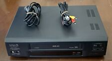AKAI VS-G460 Pro GX4 Head VCR Video VCR VHS Cassette Player Tested Working