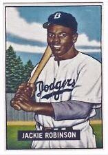 JACKIE ROBINSON 1952 ROOKIE STYLE VERY COOL CUSTOM MADE ART CARD beautiful card