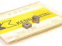 NEW SURPLUS 10PCS. KENNAMETAL  SNMG 2.523  GRADE: K68   CARBIDE INSERTS