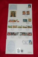 ROYAL MAIL FIRST DAY COVERS CDS HOUSE OF LORDS & COMMONS & DOUBLE DATED POSTMARK