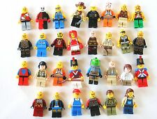 LEGO Mini Figure Lot Huge Collection  30 Figures Minifigures Authentic Original