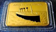 1 Unze Barren Titanic - 15 April 1912 - Neu
