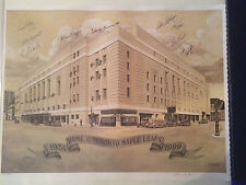 Maple Leaf Gardens Ltd. Edition multi-signed Bruce Burton lithograph