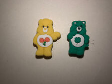Care Bears Lot Of 2, Crocs Shoes Bracelet, Lace Adapter Charms , Jibbitz