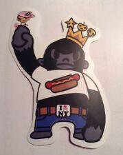 Pegatina/sticker/autocollant/ Adesivo/ Aufkleber/ Klistermärke : King Kong NY