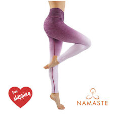 Yoga Fitness Ombre Leggings Running Gym Stretch High Waist Compression Pants BL
