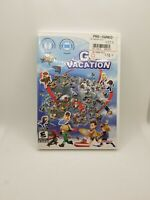 Go Vacation (Nintendo Wii, 2011) Complete w/ Manual Tested and Working