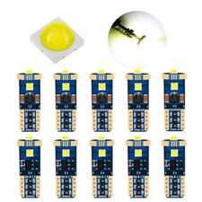 10X T10 3030 CREE LED Light Canbus 6000K White Car Auto Interior Dome Lamp Bulbs