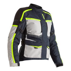 RST 102492 Maverick CE Ladies Textile Motorcycle Motorbike Jacket - Blue/Silver/