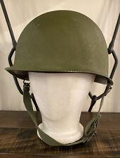 Original Vietnam War U.S. Army M1 Helmet w/Chinstrap, 1965 Liner