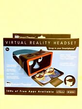 Smart Theater Virtual Reality Headset iPhone & Android Compatible Brand New