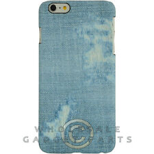 Apple iPhone 6/6s Plus Candy Skin Faded Blue Jeans Guard Shield Cover Shell Case