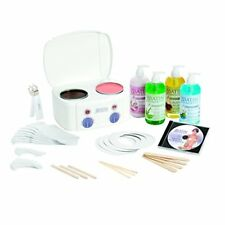 Satin Smooth Ssw11ckit Double Wax Warmer Kit With 2