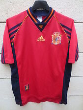 VINTAGE Maillot ESPAGNE Adidas ESPANA camiseta World Cup 98 Spain shirt M trikot