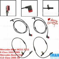 ABS Speed Sensor Rear FEBI For MERCEDES C219 S211 W211 W219 02-10 2115402417
