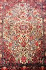 MIDDLE EAST CARPET. WOOL AND SILK OR VISCOSE. GREAT BRIGHTNESS.MIDDLE EAST. XXTH