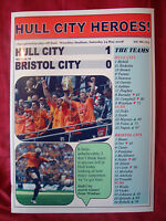 Hull City 1 Bristol City 0 - 2008 Championship play-off final - souvenir print